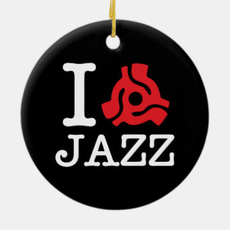 I 45 Adapter Jazz Ceramic Ornament