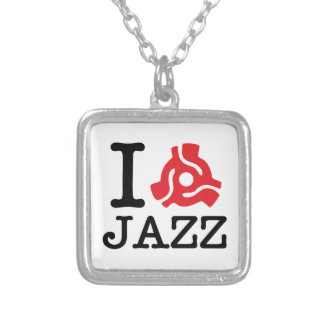 I 45 Adapter Jazz Square Pendant Necklace