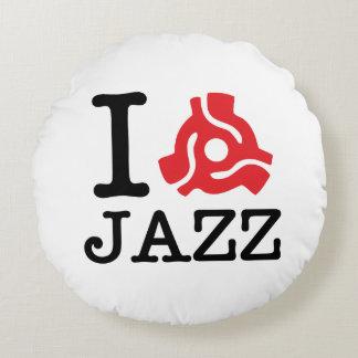 I 45 Adapter Jazz Round Pillow