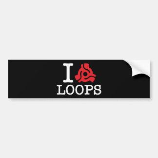I 45 Adapter Loops Bumper Sticker