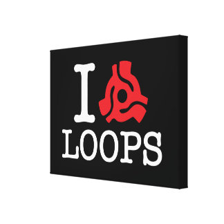 I 45 Adapter Loops Canvas Print