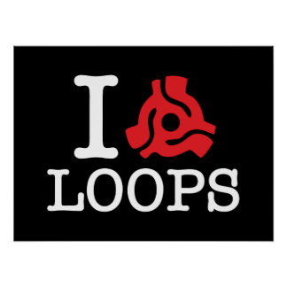 I 45 Adapter Loops Poster