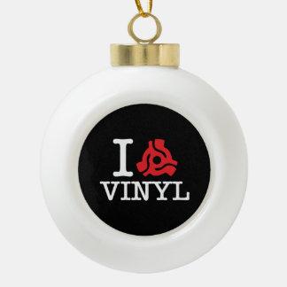 I 45 Adapter Vinyl Ceramic Ball Christmas Ornament