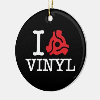 I 45 Adapter Vinyl Ceramic Ornament