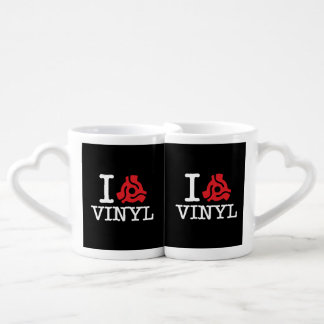 I 45 Adapter Vinyl Coffee Mug Set