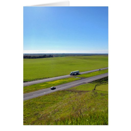 I-5 San Joaquin Valley, Central California Greeting Cards