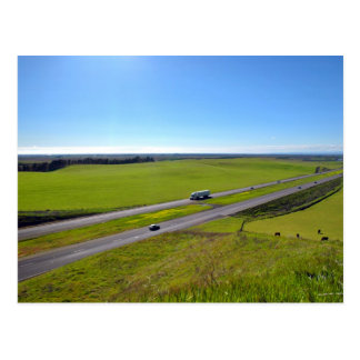 I-5 San Joaquin Valley, Central California Postcard