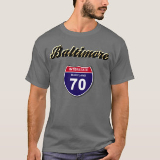 I-70 Baltimore Playera