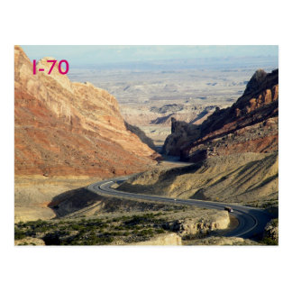I-70 TARJETA POSTAL