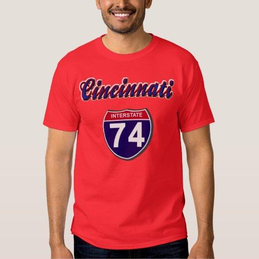 I-74 Cincinnati T-Shirt