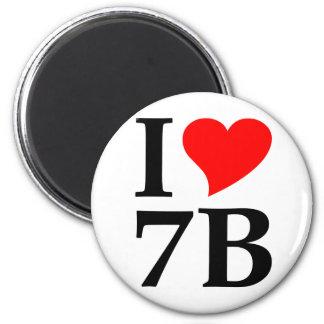 I 7B love Imán Redondo 5 Cm