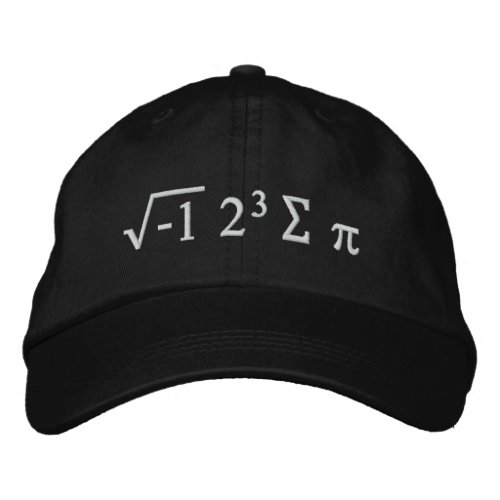 i 8 sum pi _ I Ate Some Pi Funny Math Hat