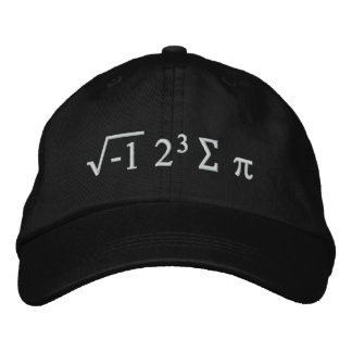 i 8 sum pi - I Ate Some Pi Funny Math Hat Embroidered Hats