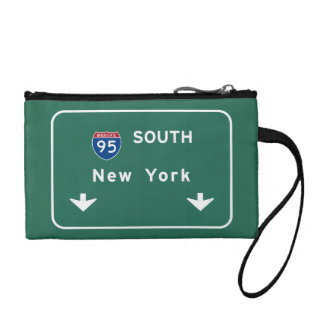 I-95 Interstate New York Empire State NY Highway Coin Purse