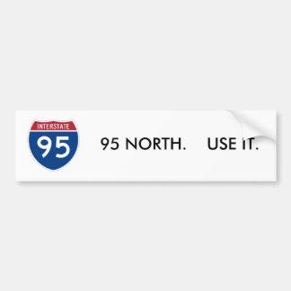 I-95_svg, 95 DEL NORTE.    UTILÍCELO Pegatina Para Auto