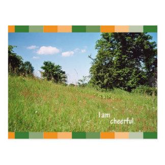 I a cheerful postal