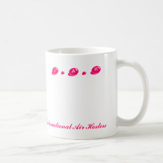I . A . H, International Air Hostess Coffee Mug