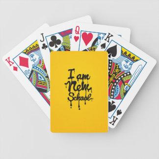 I a new school (, Swag Dopa, Hipster) Baraja Cartas De Poker