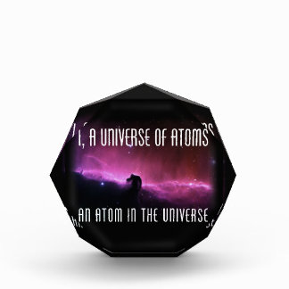 I, a Universe of Atoms.  An Atom in the Universe Award