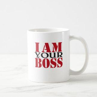 I a your boss taza clásica