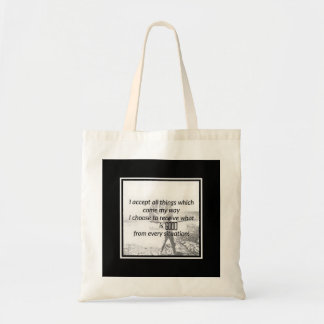 """""""I Accept All Things"""" Tote"""