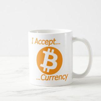 I Accept Bitcoin Currency Type 02 Coffee Mug