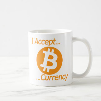 I Accept Bitcoin Currency Type 02 Classic White Coffee Mug