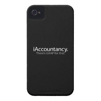 i Accountancy - There's GAAP For That iPhone 4 Case-Mate Case
