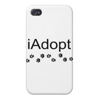I Adopt Animals Cover For iPhone 4