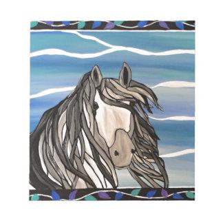I adore horses scratch pads