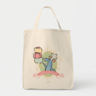 I adore petit fours! canvas bags