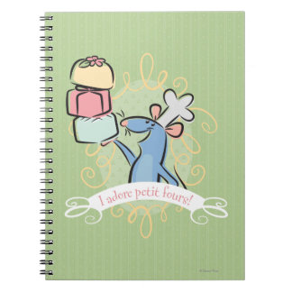 I adore petit fours! notebooks