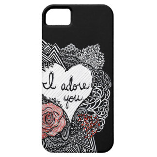 I Adore You iPhone 5/5S Cases