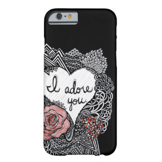 I Adore You iPhone 6 Case