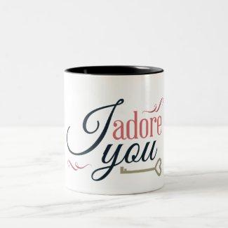 I adore you coffee mugs