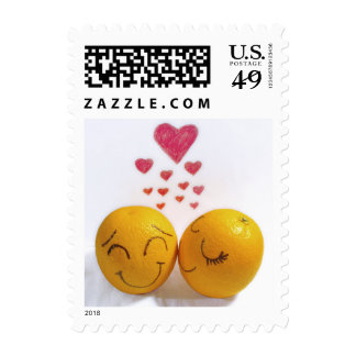 I Adore You Postage Stamp