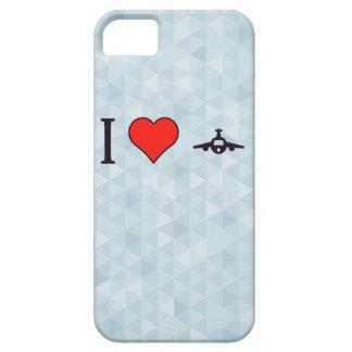 I aeroplanos del corazón funda para iPhone 5 barely there