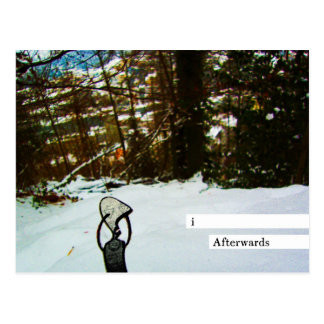 i afterwards postcard
