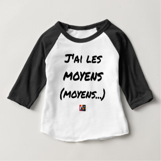 I AI MEANS (AVERAGE…) - Word games Baby T-Shirt