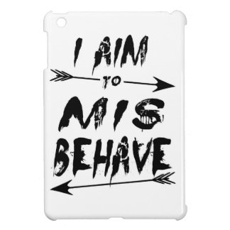 I aim to mis behave cover for the iPad mini