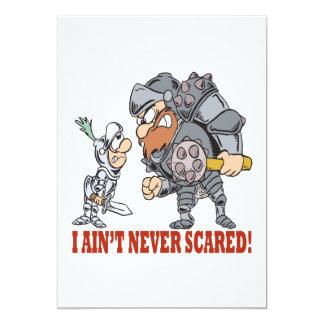 I Aint Never Scared Card