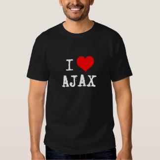 I AJAX del corazón Playeras