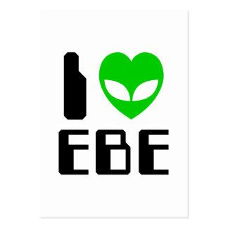 I Alien Heart EBE Business Cards