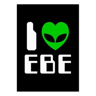 I Alien Heart EBE Business Card Templates
