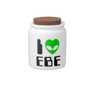 I Alien Heart EBE Candy Dish
