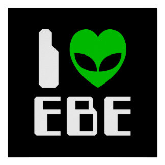 I Alien Heart EBE Poster