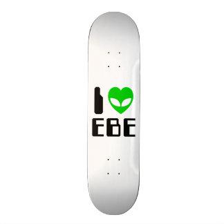 I Alien Heart EBE Skateboard