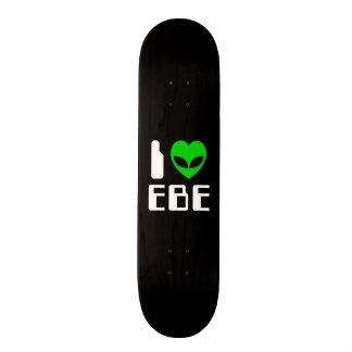 I Alien Heart EBE Skateboard Deck