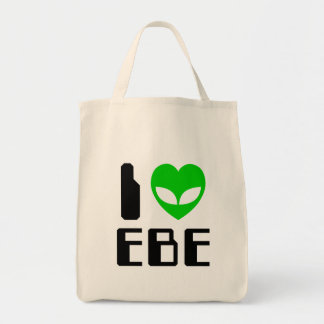 I Alien Heart EBE Tote Bag