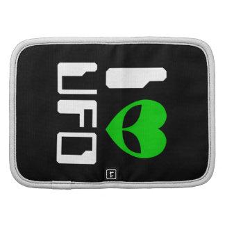I Alien Heart UFO Folio Planner